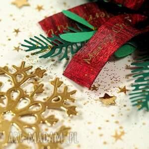 świąteczny prezent bożonarodzeniowa kartka świąteczna