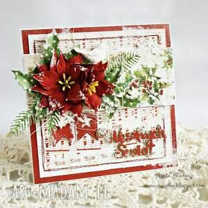 pomysł na upominek na święta kartka świąteczna (w