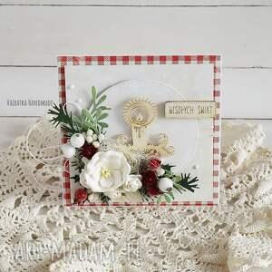 pomysł na upominek kartka świąteczna, w pudełku, 529