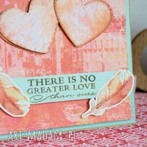 scrapbooking kartki kartka - there is no greater love