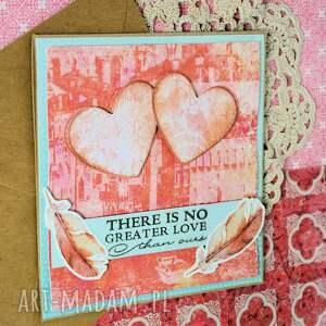 scrapbooking kartki zaręczyny kartka - there is no greater love