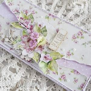 urodzinowa scrapbooking kartki różowe kartka uniwersalna, dla ciebie, 429