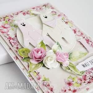scrapbooking kartki dziecko kartka urodzinowa z misiami, 463