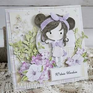 dziecko scrapbooking kartki kartka urodzinowa dla dziewczynki