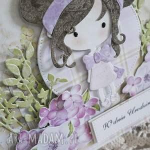 oryginalne scrapbooking kartki dziecko kartka urodzinowa dla dziewczynki
