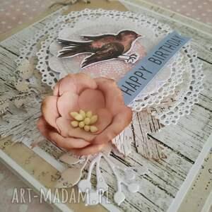 hand made scrapbooking kartki kartka urodzinowa