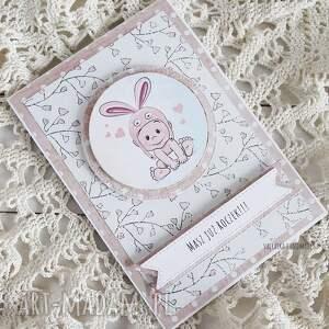 różowe scrapbooking kartki urodziny kartka urodzinowa dla dziewczynki