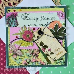 handmade scrapbooking kartki urodziny kartka urodzinowa - happy birthday
