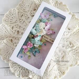 handmade scrapbooking kartki imieniy kartka urodzinowa z motylami, 489