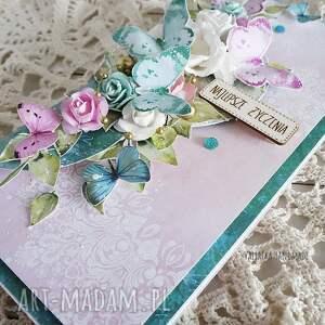 scrapbooking kartki imieniy kartka urodzinowa z motylami, 489