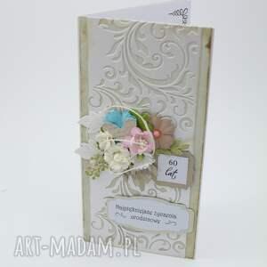białe scrapbooking kartki urodziny kartka urodzinowa dl