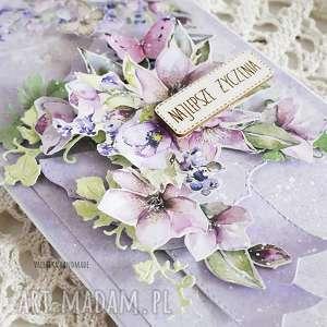 scrapbooking kartki imieniny kartka urodzinowa/imieninowa, 474