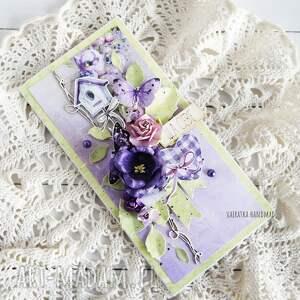 różowe scrapbooking kartki imieniny kartka urodzinowa/imieninowa, 545