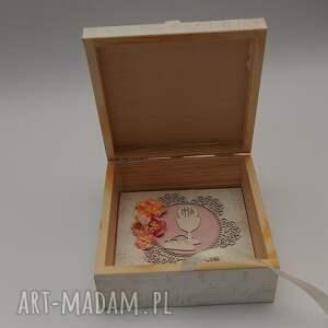 niepowtarzalne scrapbooking kartki kartka w drewnianym pudełku