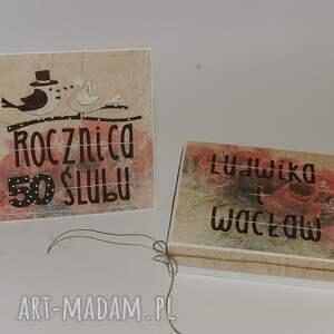 scrapbooking kartki kartka w pudełku rocznica