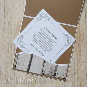 komunia scrapbooking kartki białe kartka w pudełku - wyjątkowy
