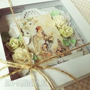 oryginalne scrapbooking kartki ślub kartka w pudełku dniu ślubu