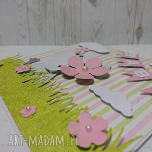scrapbooking kartki słonik kartka z gratulacjami dla maluszka