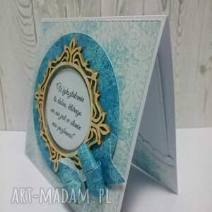 scrapbooking kartki kartka z kokardą dlabelfra