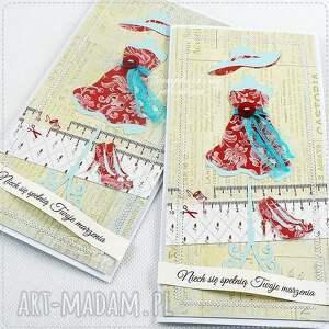 wyjątkowe scrapbooking kartki szpilki kartka z manekinem