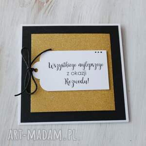 unikatowe scrapbooking kartki kartka z okazji rozwodu