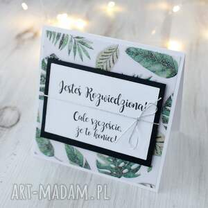 scrapbooking kartki kartka z okazji rozwodu
