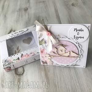 scrapbooking kartki kartka z okazji ślubu ( w