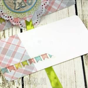 trendy scrapbooking kartki narodziny kartka z okazji narodzin- baby girl