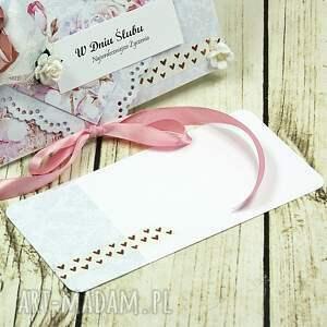 atrakcyjne scrapbooking kartki ślub kartka z okazji ślubu - różana