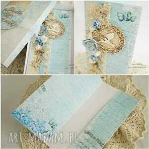 scrapbooking kartki kartka chrzcielna z okazji chrztu