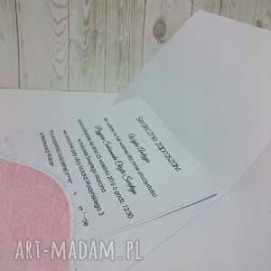 hand-made scrapbooking kartki misiu kartka/zaproszemie z ukochanym