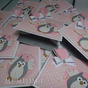 wyjątkowe scrapbooking kartki urodziny kartka/zaproszenie sowa