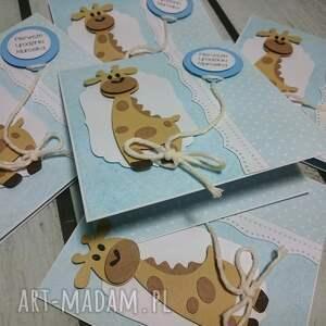 intrygujące scrapbooking kartki żyrafka kartka/zaproszenie ukochana zyrafka