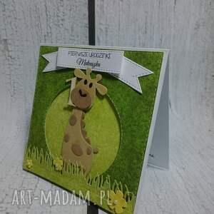 awangardowe scrapbooking kartki żyrafka kartka/zaproszenie na