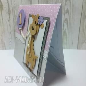 białe scrapbooking kartki urodziny kartka/zaproszenie