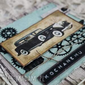 hand made scrapbooking kartki dzień-ojca kochanemu tacie