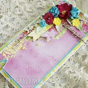 hand-made scrapbooking kartki kartka-uniwersalna kolorowa be happy w pudełku