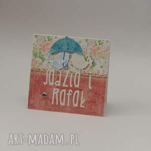 niepowtarzalne scrapbooking kartki komplet na rocznicę ślubu