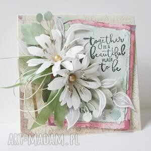 Kwiatowa - w pudełku - mama imieniny