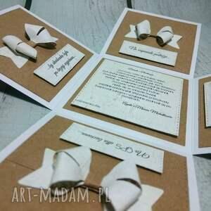 hand-made scrapbooking kartki telegram minimalistyczny eko exploding box
