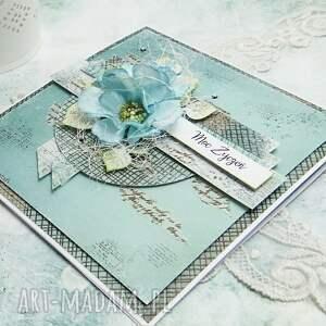 scrapbooking kartki moc życzeń - kartka