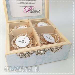 scrapbooking kartki niezbędnik małżeński pudełko