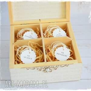 handmade scrapbooking kartki niezbędnik małżeńki małżeński pudełko