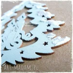 pomysł na świąteczny prezent drzewko oczekiwanie - kartka