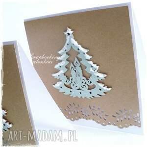 pomysł na świąteczny prezent oczekiwanie - kartka