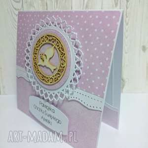 hand-made scrapbooking kartki chrzest pamiątka chrztu świętego