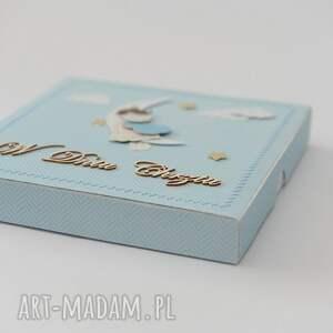 scrapbooking kartki kartka pamiątka chrztu świętego w