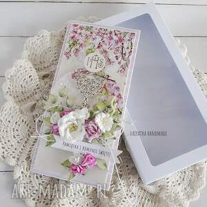modne scrapbooking kartki komunia pamiątka i komunii św - 600