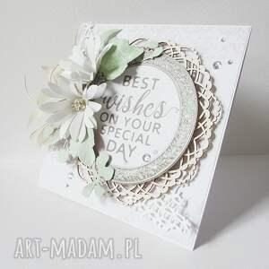 niekonwencjonalne scrapbooking kartki ślub pastelowa kartka w pudełku