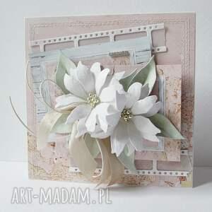 unikalne scrapbooking kartki ślub pastelowa - w pudełku